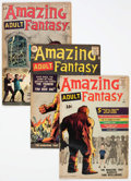 Silver Age (1956-1969):Science Fiction, Amazing Adult Fantasy #7 and 9-14 Group (Marvel, 1961-62)....(Total: 7 Comic Books)