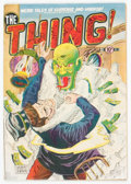 Golden Age (1938-1955):Horror, The Thing! #3 (Charlton, 1952) Condition: VG/FN....