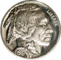 Proof Buffalo Nickels: , 1937 5C PR67 PCGS. This is a fully brilliant proof with nicemirrored fields and light cameo contrast. The surfaces are nea...