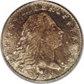 Early Half Dimes: , 1794 H10C AU55 PCGS. V-4, LM-4, R.4. Most easily attributable bythree berries inside the left wreath and none on the outsi...
