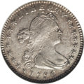 Early Half Dimes: , 1796/5 H10C MS60 NGC. V-2, LM-2, R.6. Ex: Price. Bright andlustrous in the fields, although portions near the stars and le...