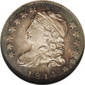 Bust Dimes: , 1814 10C Small Date MS64 NGC. JR-1, R.3. This is a scarce varietythat is generally offered in grades no finer than VF. Wri...