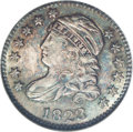Bust Dimes: , 1823/2 10C Large Es MS65 NGC. JR-3, R.2. The NGC holder incorrectlyidentifies this as the JR-2 variety, but the diagnostic...
