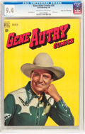 Golden Age (1938-1955):Western, Gene Autry Comics #25 Mile High Pedigree (Dell, 1949) CGC NM 9.4 Off-white to white pages....