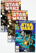 Modern Age (1980-Present):Science Fiction, Star Wars Group of 53 (Marvel, 1981-86) Condition: Average VG....(Total: 53 Comic Books)