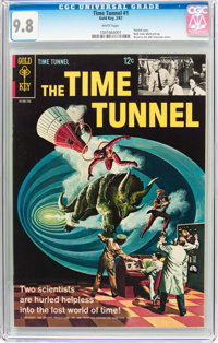 The Time Tunnel #1 (Gold Key, 1967) CGC NM/MT 9.8 White pages