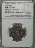 (1670-75) FARTH St. Patrick Farthing -- Graffiti, Corrosion -- NGC Details. Fine. NGC Census: (0/0). PCGS Population (0/...