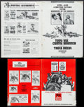 """Movie Posters:Action, Taras Bulba (United Artists, 1962). Pressbooks (26) (Multiple Pages, 10""""-14"""" X 13""""-18""""), & Ad Slicks (5) (7.5""""-16"""" X 12.75""""-... (Total: 31 Items)"""