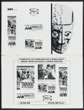 """Movie Posters:Documentary, Taboos of the World & Others Lot (American International, 1963). Uncut Pressbooks (7) (9"""" X 12"""" - 11"""" X 15""""), Presskit (13""""... (Total: 11 Items)"""