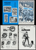 """Movie Posters:Exploitation, Riot on Sunset Strip & Others Lot (American International,1967). Pressbooks (21) (Multiple Pages, 8.25""""-12.25"""" X 11""""-17"""").... (Total: 21 Items)"""