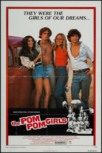 "The Pom Pom Girls & Other Lot (Crown International, 1976). One Sheets (2) (27"" X 41"") Style B, Photos (2)..."