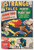 Silver Age (1956-1969):Superhero, Strange Tales #126 (Marvel, 1964) Condition: FN....