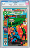 Modern Age (1980-Present):Superhero, DC Comics Presents #26 Superman and Green Lantern (DC, 1980) CGCNM+ 9.6 White pages....