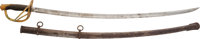 U.S. Model 1860 Light Cavalry Saber Dated 1864 Manufactured by Ames
