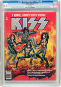 Magazines:Miscellaneous, Marvel Comics Super Special #1 KISS (Marvel, 1977) CGC VF 8.0 White pages....