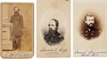 Photography:CDVs, Civil War Union Cartes-de-visite: Identified Soldiers Including Gettysburg Casualty.... (Total: 3 Items)
