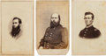 Photography:CDVs, Civil War Union Cartes-de-visite: Identified Soldiers.... (Total: 3 Items)