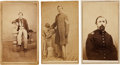 Photography:CDVs, Civil War Union Cartes-de-visite: Identified Soldiers Including MOH Winner.... (Total: 3 Items)