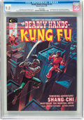 Magazines:Superhero, The Deadly Hands of Kung Fu #13 (Marvel, 1975) CGC NM/MT 9.8 Whitepages....