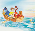 Animation Art:Production Drawing, Winnie the Pooh Children's Book Art (Walt Disney's,1990s).... (Total: 2 Items)