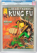 Magazines:Superhero, The Deadly Hands of Kung Fu #19 (Marvel, 1975) CGC NM/MT 9.8 Whitepages....