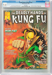 The Deadly Hands of Kung Fu #19 (Marvel, 1975) CGC NM/MT 9.8 White pages