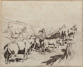 Fine Art - Work on Paper:Print, Edward Borein (American, 1873-1945). On the Western Range (three works). Etchings, each. 7-3/4 x 9-3/4 inches (19.7 x 24... (Total: 3 Items)