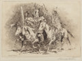 Prints, Edward Borein (American, 1873-1945). Native American Tribes (three works). Etchings, each. 8-1/4 x 8-3/4 inches (21.0 x ... (Total: 3 Items)
