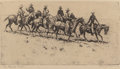 Fine Art - Work on Paper:Print, Edward Borein (American, 1873-1945). Western Occupations (three works). Etchings, each. 4 x 8-1/2 inches (10.2 x 21.6 cm... (Total: 3 Items)