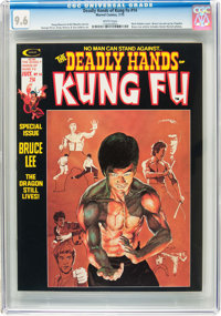 The Deadly Hands of Kung Fu #14 (Marvel, 1975) CGC NM+ 9.6 White pages