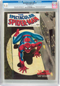 Magazines:Superhero, Spectacular Spider-Man #1 (Marvel, 1968) CGC VF/NM 9.0 Off-whitepages....