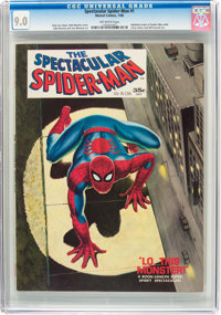 Spectacular Spider-Man #1 (Marvel, 1968) CGC VF/NM 9.0 Off-white pages