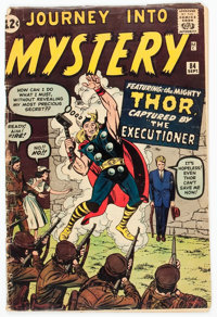 Journey Into Mystery #84 (Marvel, 1962) Condition: GD-