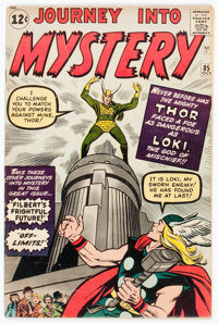 Journey Into Mystery #85 (Marvel, 1962) Condition: VG+