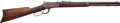 Long Guns:Lever Action, Winchester Model 1892 Lever Action Short Rifle issued to Citizens Guard Hawaii Member, George Watt....