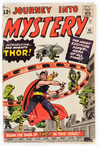 Journey Into Mystery #83 (Marvel, 1962) Condition: FR