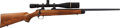 Long Guns:Bolt Action, Kimber Custom Match Bolt Action Rifle with Telescopic Sight....