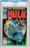 Modern Age (1980-Present):Superhero, The Incredible Hulk #344 (Marvel, 1988) CGC NM/MT 9.8 Whitepages....