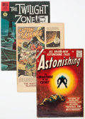 Golden Age (1938-1955):Science Fiction, Golden to Modern Age Sci-Fi/Mystery Group of 7 (Various Publishers,1951-85).... (Total: 7 Comic Books)