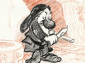 Animation Art:Concept Art, Snow White and the Seven Dwarfs Grumpy Story/Concept Art(Walt Disney, 1937)....