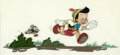 Animation Art:Production Drawing, Pinocchio Pinocchio and Jiminy Cricket Book Illustration Cel(Walt Disney, 1940)....