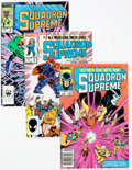 Modern Age (1980-Present):Superhero, Squadron Supreme #1-12 Near-Complete Series Box Lot (Marvel,1985-86) Condition: Average VF/NM....