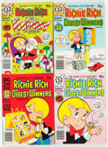 Bronze Age (1970-1979):Cartoon Character, Richie Rich and Casper-Related Digests File Copies Box Lot (Harvey, 1970s-80s) Condition: Average NM-....