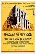 "Movie Posters:Academy Award Winners, Ben-Hur (MGM, R-1969). One Sheet (27"" X 41"") & Ad Slick (14"" X 19""). Academy Award Winners.. ... (Total: 2 Items)"