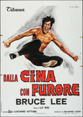"""Movie Posters:Action, The Chinese Connection (Titanus, 1973). Italian 2 - Fogli (39.25"""" X55.25""""). Action.. ..."""