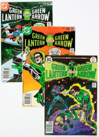 Green Lantern-Related Box Lot (DC, 1970s-2000s) Condition: Average VF/NM