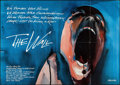 "Movie Posters:Rock and Roll, Pink Floyd: The Wall (Constantin Film, 1982). German A0 (33"" X46.5""). Rock and Roll.. ..."