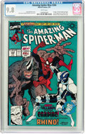 Modern Age (1980-Present):Superhero, The Amazing Spider-Man #344 (Marvel, 1991) CGC NM/MT 9.8 Whitepages....