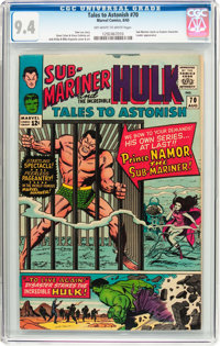 Tales to Astonish #70 (Marvel, 1965) CGC NM 9.4 Off-white to white pages