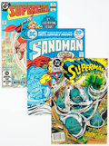 Modern Age (1980-Present):Superhero, DC Bronze and Modern Age Comics Box Lot (DC, 1970s-90s) Condition:Average VF/NM....